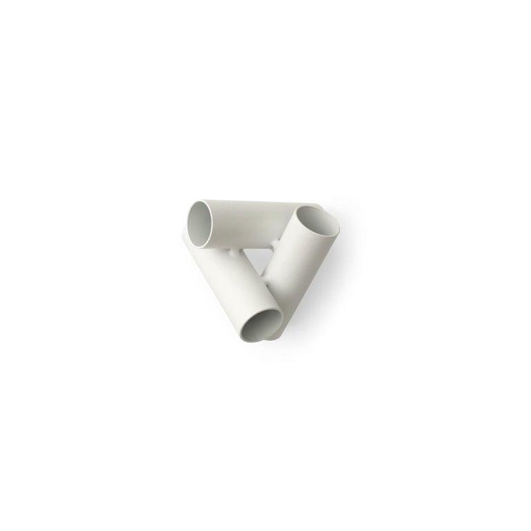 European Stick System, White Shelves with White Poles, 3x2 For Sale