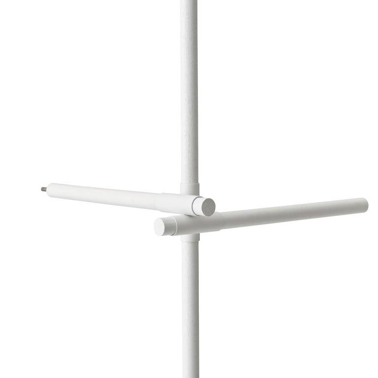European Stick System, White Shelves with White Poles, 3x4 For Sale