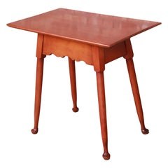 Stickley American Colonial Solid Cherry Occasional Table