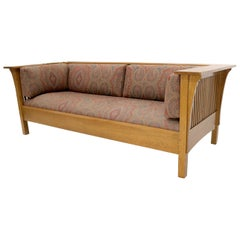 Stickley Arts & Crafts Mission Oak Sofa