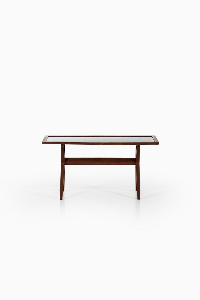 Rare coffee table designed by Stig Lindberg. Produced by Gustavsberg in Sweden.