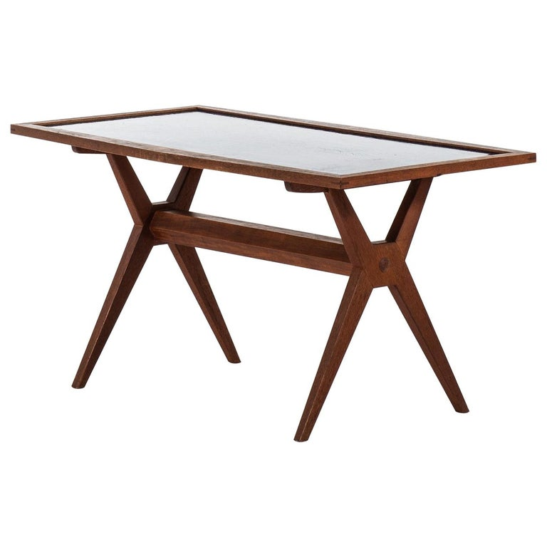 Stig Lindberg Coffee Table Produced by Gustavsberg in Sweden For Sale