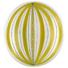 Stig Lindberg for Gustavsberg Studio Hand, Bowl in Glazed Faience