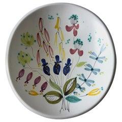 Stig Lindberg Gustavsberg Swedish Modernist Faience Bowl