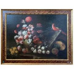 """Still Life - Bodegon"" School Spanish, 17th Century"