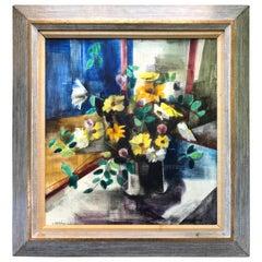 """Still Life of Flowers"" by Zoltan Sepeshy"