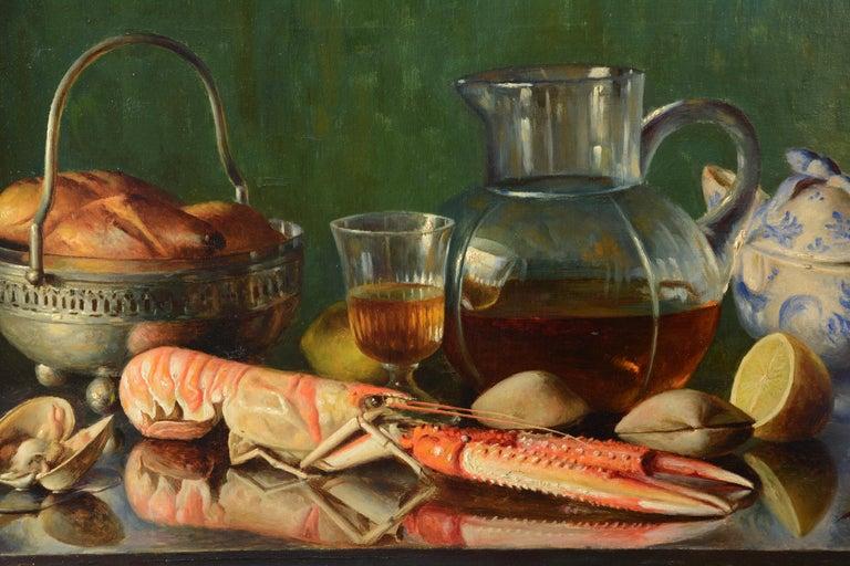 "Other ""Still Life"" Oil on Canvas, Mañanós Martínez, Asterio, 1933 For Sale"