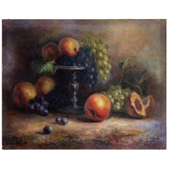 Still Life Oil Painting 2, Scotland, circa 1923