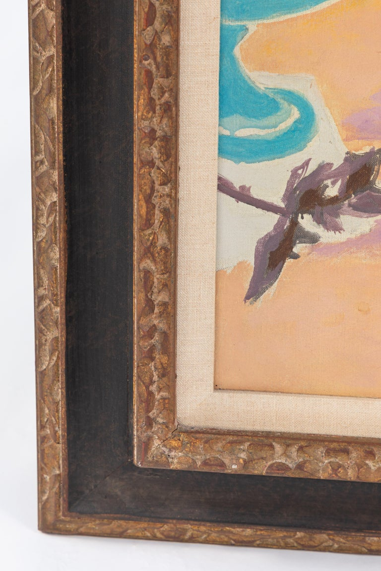 20th Century Still Life Oil Painting by French Impressionist Artist Jean Cavailles For Sale