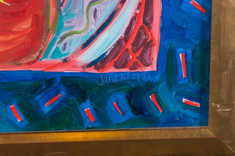 Still Life Painting, Artist Jane Kewin In Good Condition For Sale In Stamford, CT
