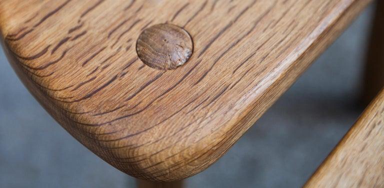 Stilmobler Oak Stool Set of 2 For Sale 5