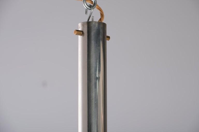 Stilnovo 12-Lights Chandelier in Brass and Aluminium, 1970 circa 1