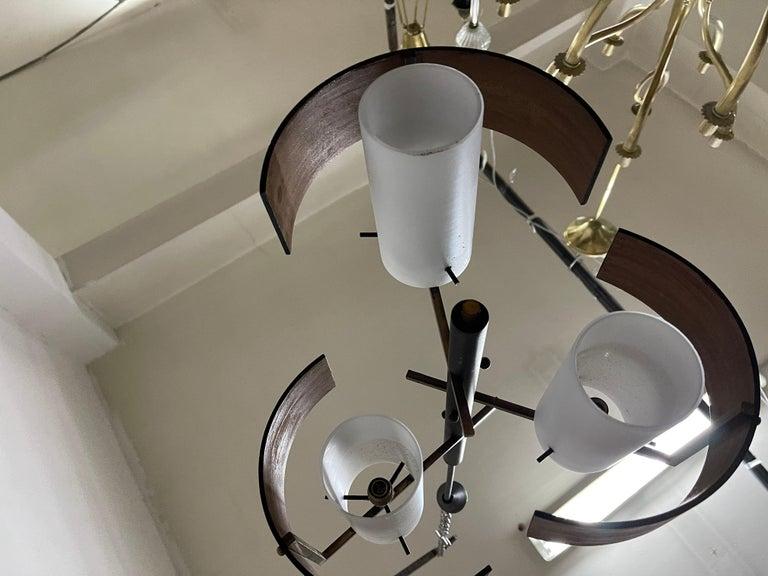 Stilnovo 3 Lights Chandelier For Sale 3