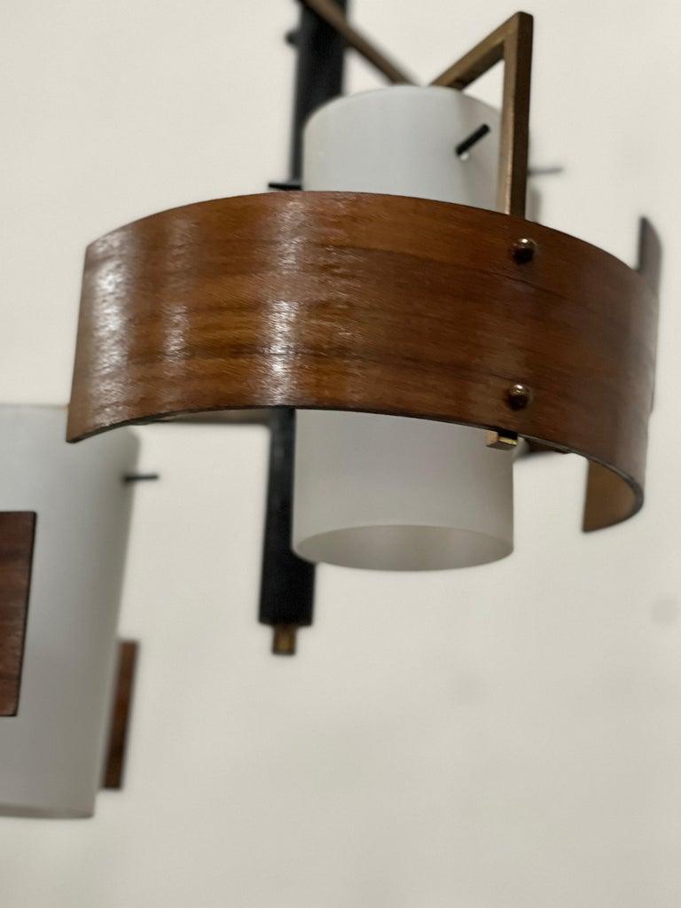 Stilnovo 3 Lights Chandelier For Sale 1