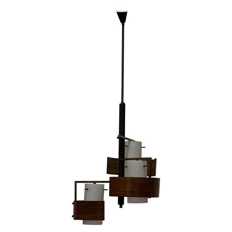 Stilnovo 3 Lights Chandelier For Sale