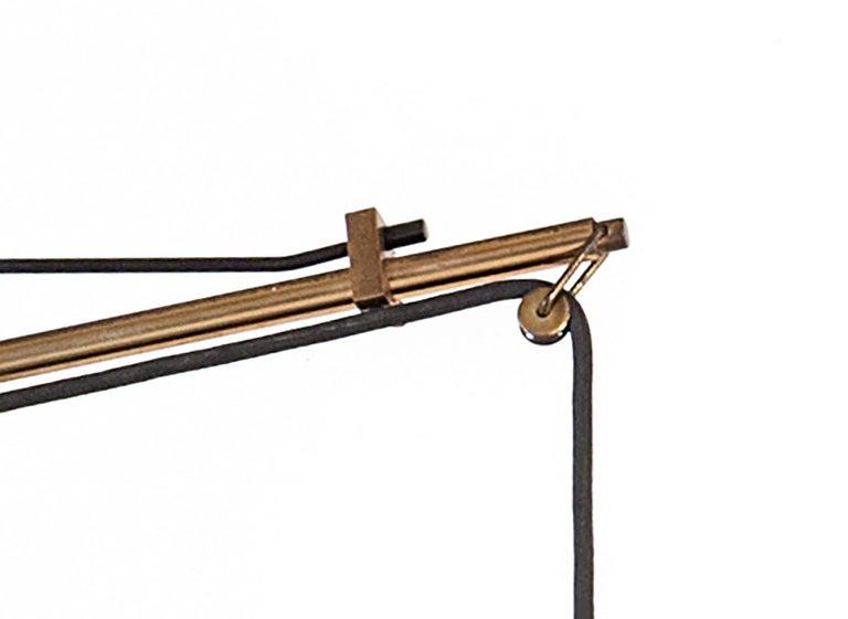 Italian Stilnovo Adjustable Wall Light Model 2061 For Sale