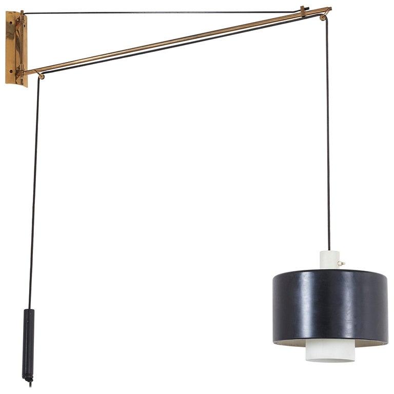 Stilnovo Adjustable Wall Light Model 2061 For Sale