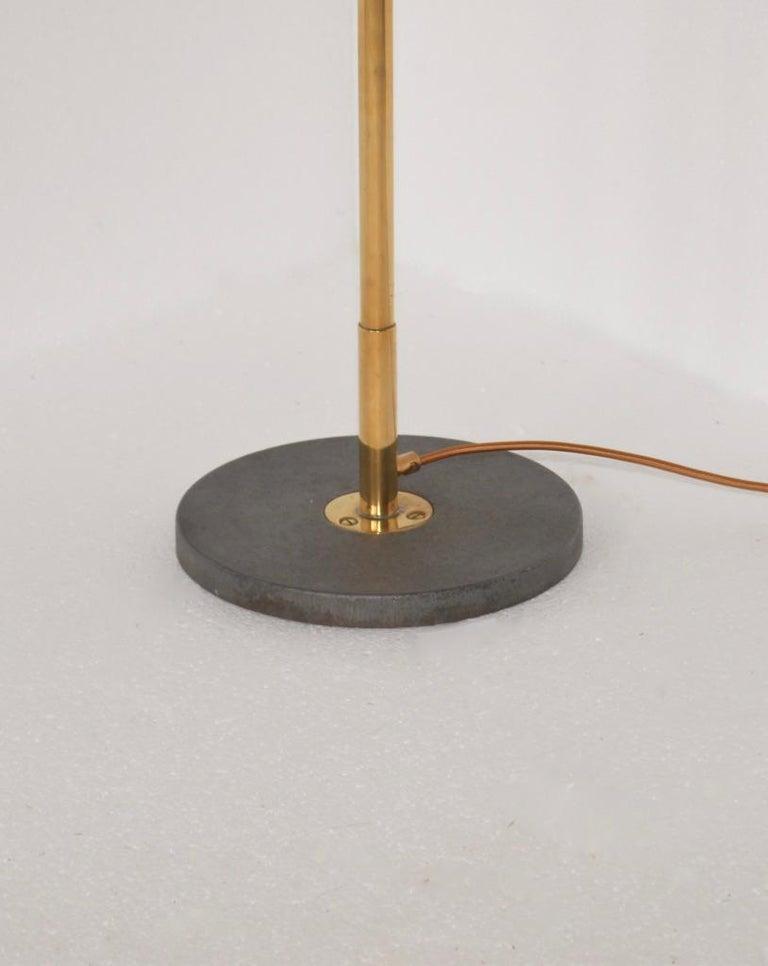 Mid-20th Century Stilnovo Brass Floor Lamp For Sale