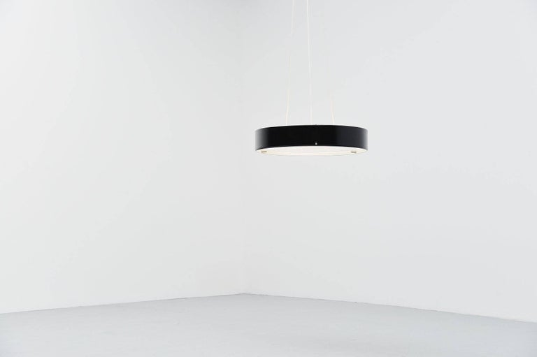 Italian Stilnovo Ceiling Lamp Model 288 by Bruno Gatta, Italy 1959
