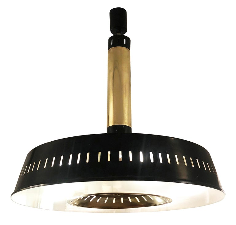 Italian Stilnovo Ceiling Light, Italy, 1960s For Sale