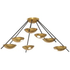 Stilnovo Original Ceiling or Wall Light Model 1036