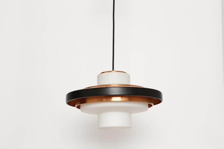Stilnovo ceiling pendant model 1219. Italy, 1960s.