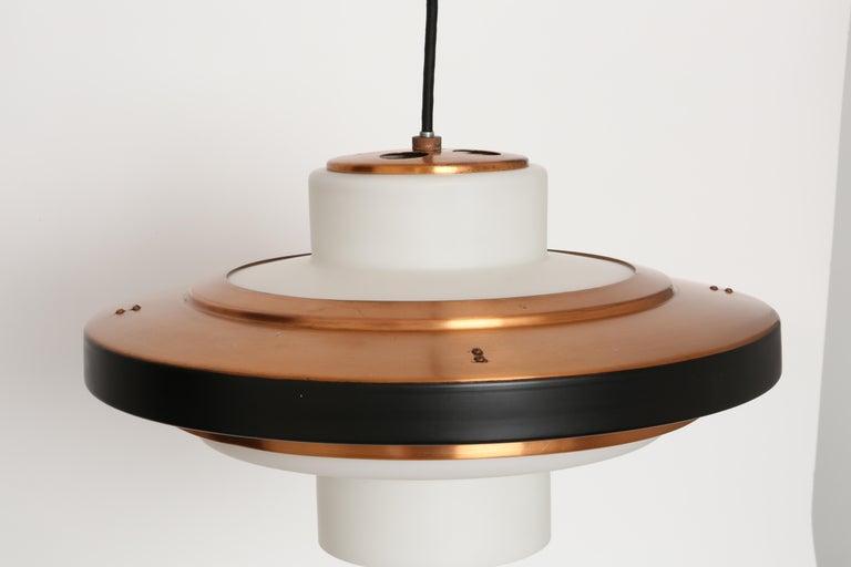 Mid-Century Modern Stilnovo Ceiling Pendant Model 1219 For Sale