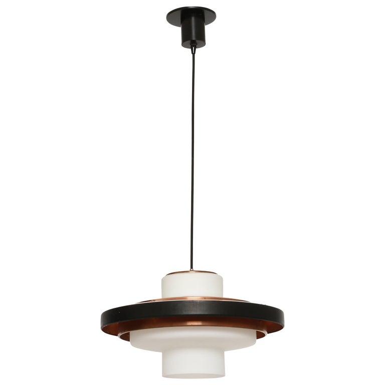 Stilnovo ceiling pendant model 1219 For Sale