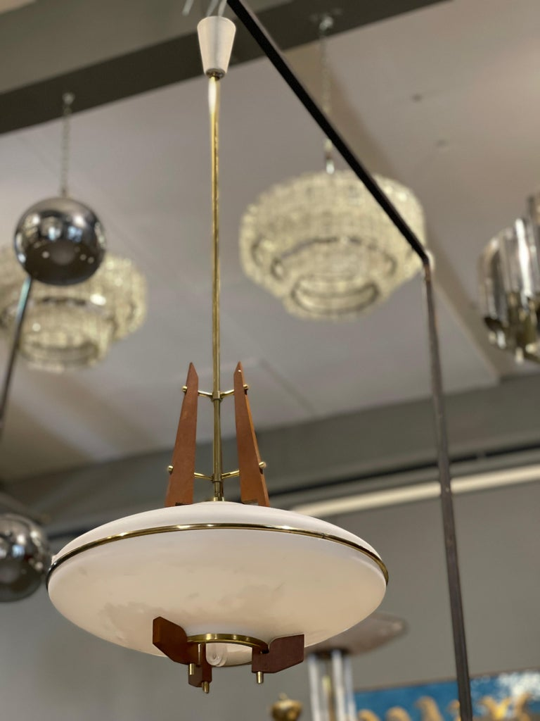 Stilnovo Chandelier In Good Condition For Sale In Catania, IT