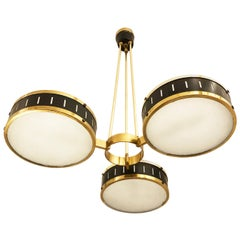 Stilnovo Chandelier with Three Shades