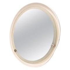 STILNOVO Sconce Circular Wall Mirror Light Modern Midcentury ITALY 1960s
