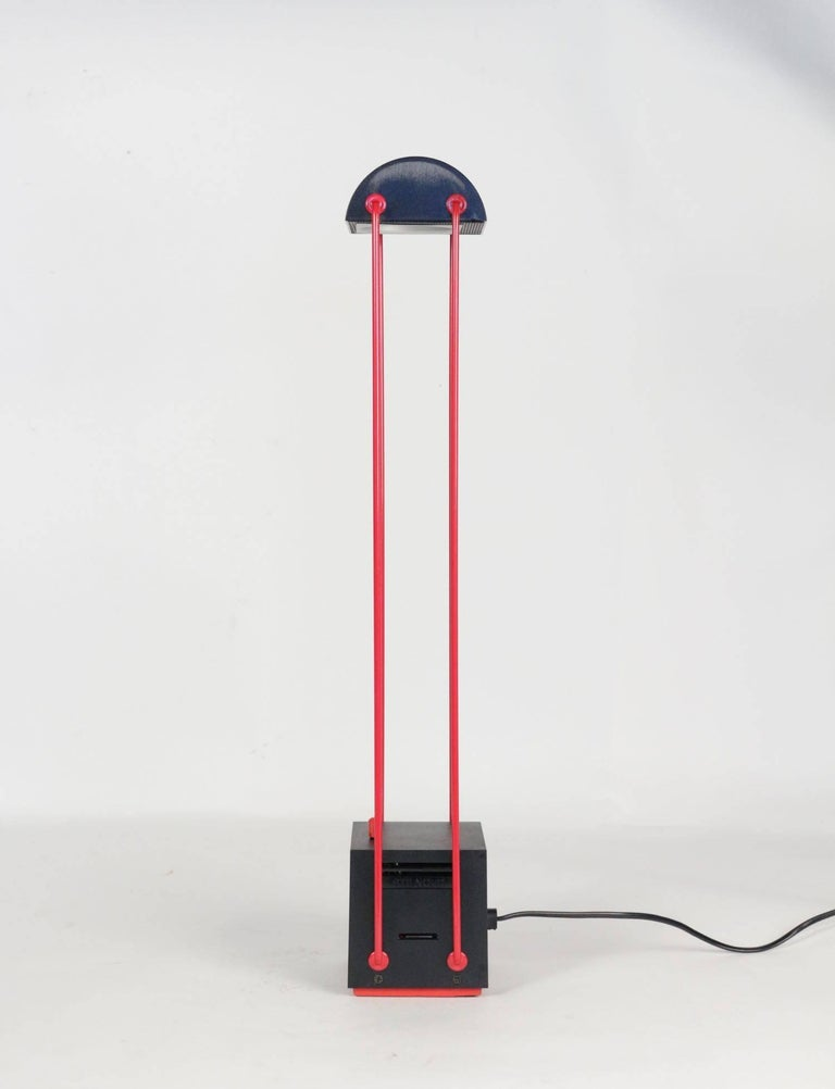 Lacquer Stilnovo Desk Lamp by Asahara Shigeaki, Model