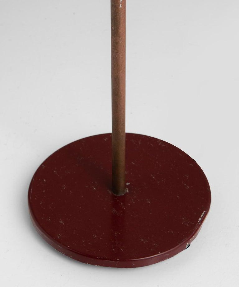Lacquered Stilnovo Floor Lamp For Sale