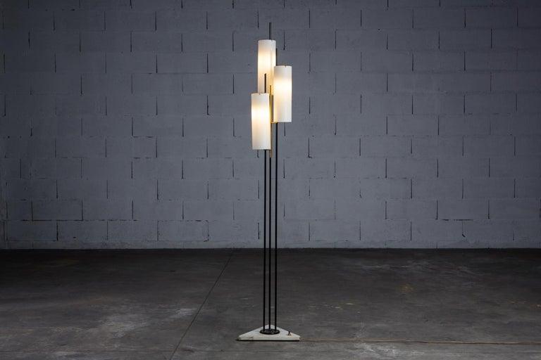 Mid-Century Modern Stilnovo Floor Lamp, Italy, 1950s