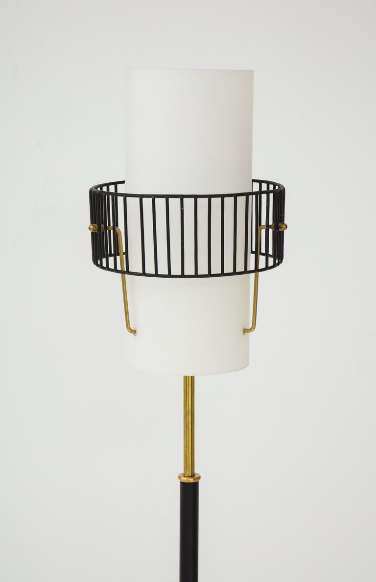 Mid-Century Modern Stilnovo Floor Lamp, Italy, circa 1950s For Sale
