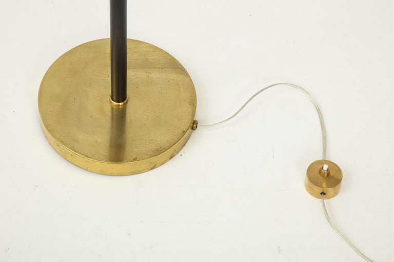 Stilnovo Floor Lamp, Italy, circa 1950s In Good Condition For Sale In Brooklyn, NY