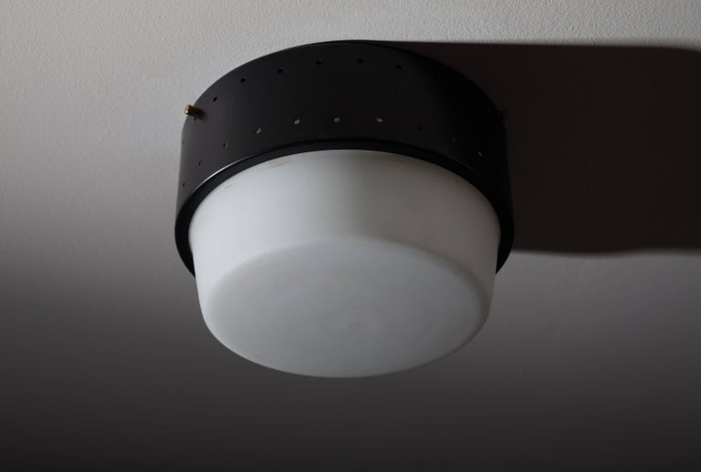 Stilnovo Flush Mount Ceiling Light In Good Condition For Sale In Los Angeles, CA