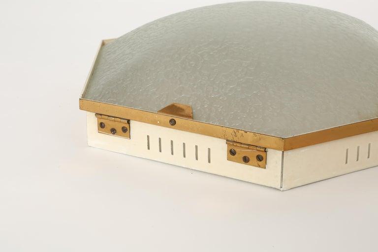 Stilnovo Flush Mount Ceiling Light Model 1183 For Sale 2