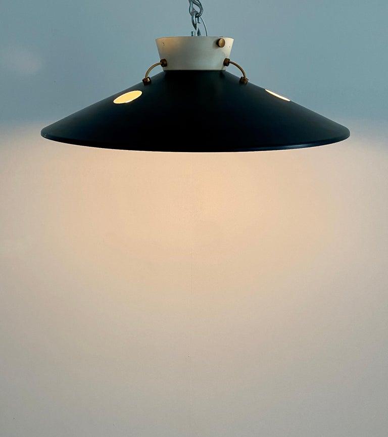 Italian Stilnovo Flush Mount Ceiling Lights circa 1950 For Sale
