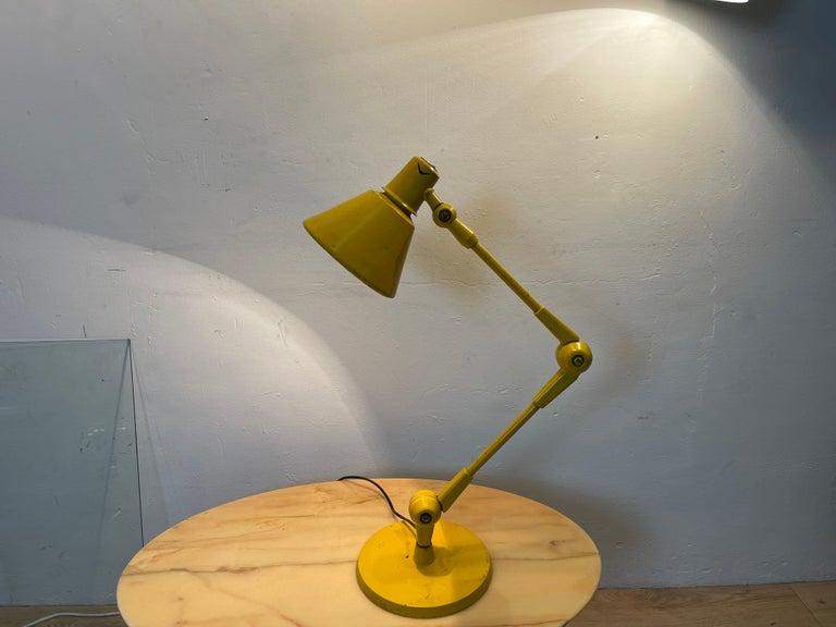 Industrial Stilnovo Lamp For Sale
