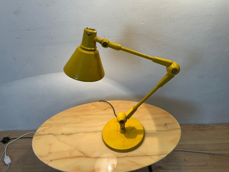 Metal Stilnovo Lamp For Sale