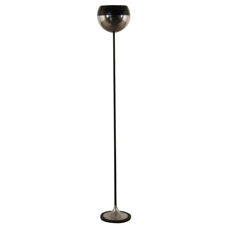 Stilnovo Lamp, Metal and Aluminum, Italy, 1960s For Sale