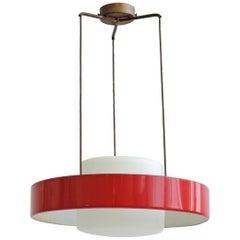 Stilnovo Mod. 1158 Ceiling Lamp, Italy, 1960s