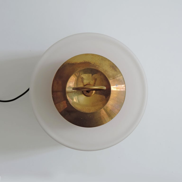 Lacquered Stilnovo Mod. 8052 Table Lamp, Italy, 1950s For Sale