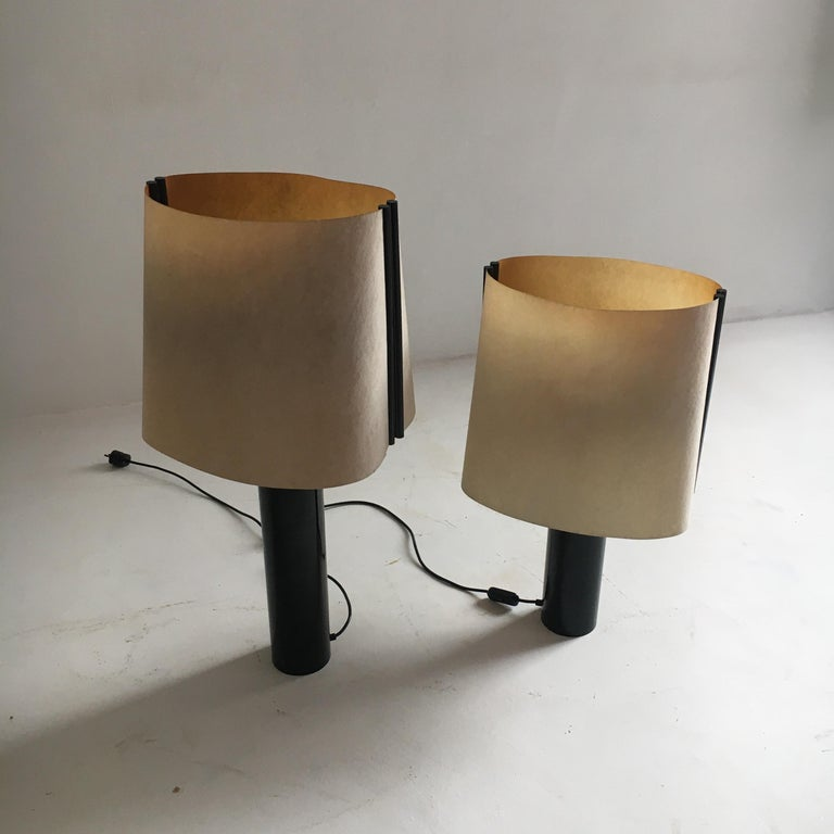 Stilnovo Pair of Table Lamps Model Paralume, Italy, 1970 For Sale 4