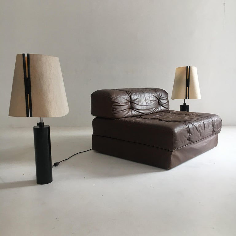Stilnovo Pair of Table Lamps Model Paralume, Italy, 1970 For Sale 6
