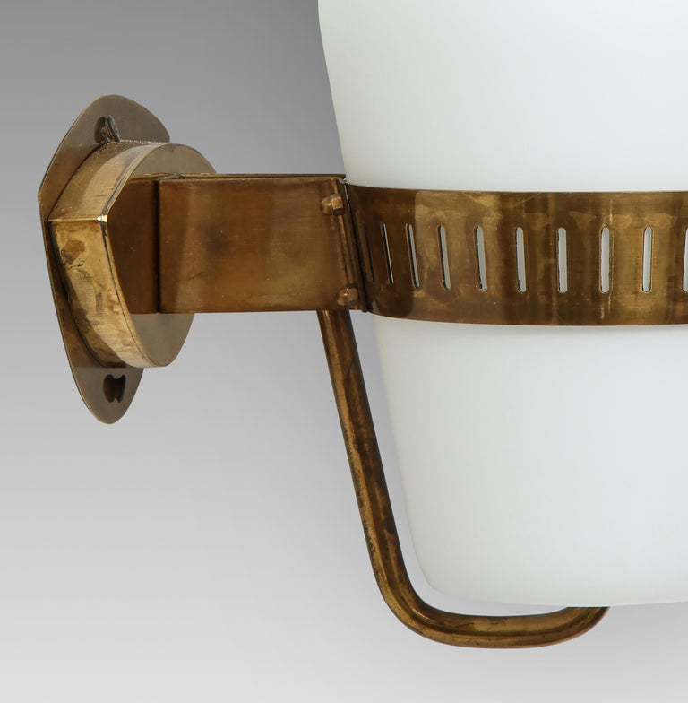 Mid-20th Century Stilnovo Pairs of Sconces Model 2078 For Sale