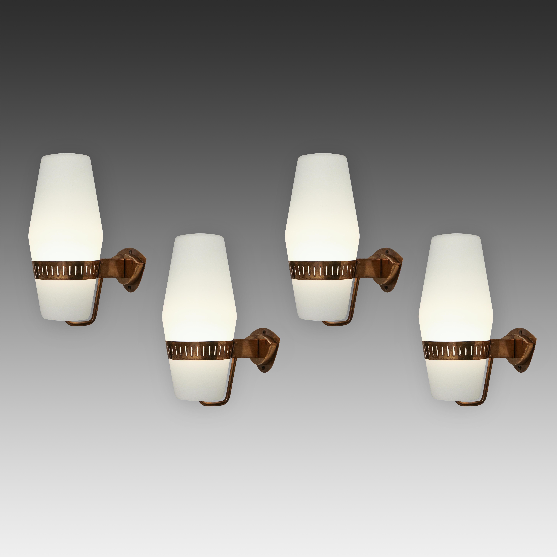 Stilnovo Pairs of Sconces Model 2078