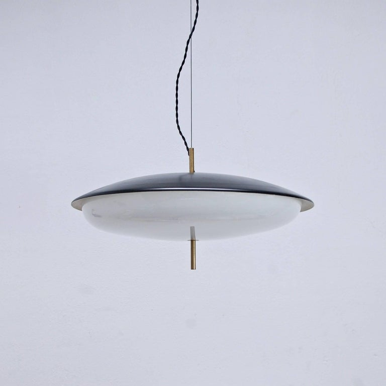 Mid-Century Modern Stilnovo Pendant For Sale