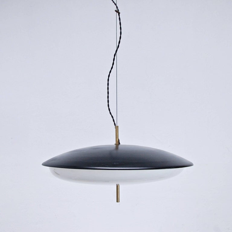 Mid-20th Century Stilnovo Pendant For Sale